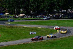 #15 3GT Racing Lexus RCF GT3, GTD - Jack Hawksworth, David Heinemeier Hansson, #96 Turner Motorsport BMW M6 GT3, GTD - Robby Foley, Bill Auberlen