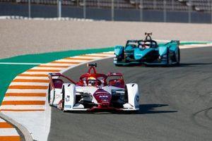 Sergio Sette Camara, Dragon Penske Autosport, Penske EV-4, Mitch Evans, Panasonic Jaguar Racing, Jaguar I-Type 5