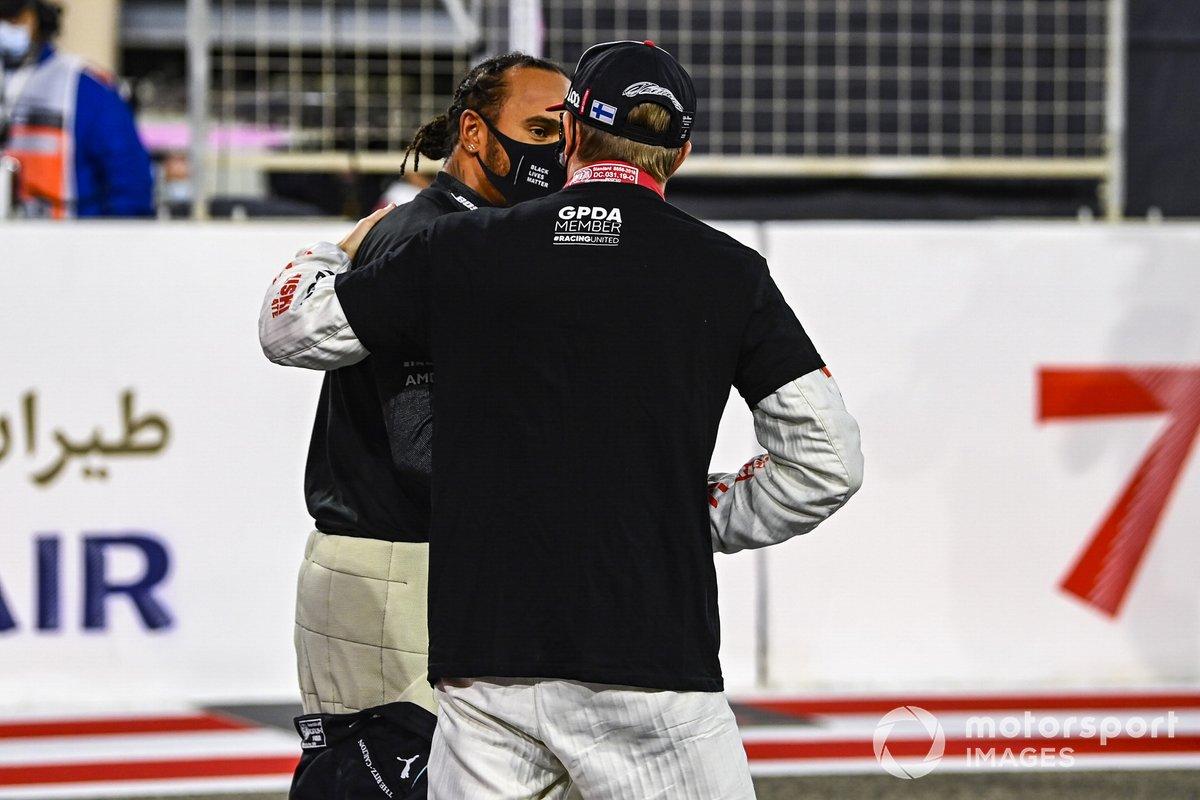 Lewis Hamilton, Mercedes-AMG F1, Kimi Raikkonen, Alfa Romeo