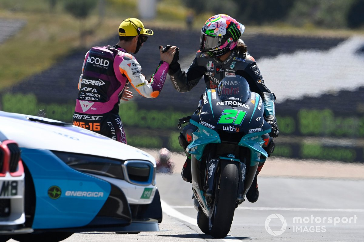 Franco Morbidelli, Petronas Yamaha SRT, Andrea Migno