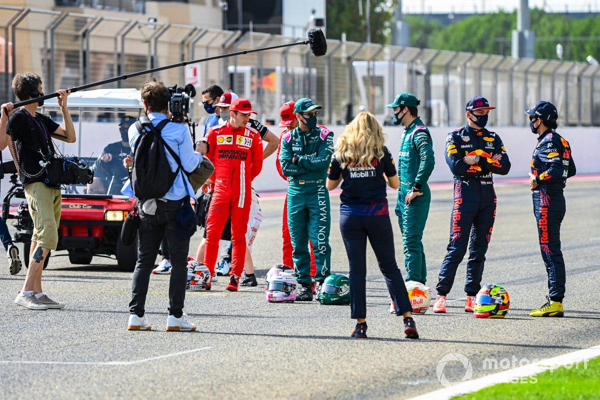 Los pilotos de la F1 2021