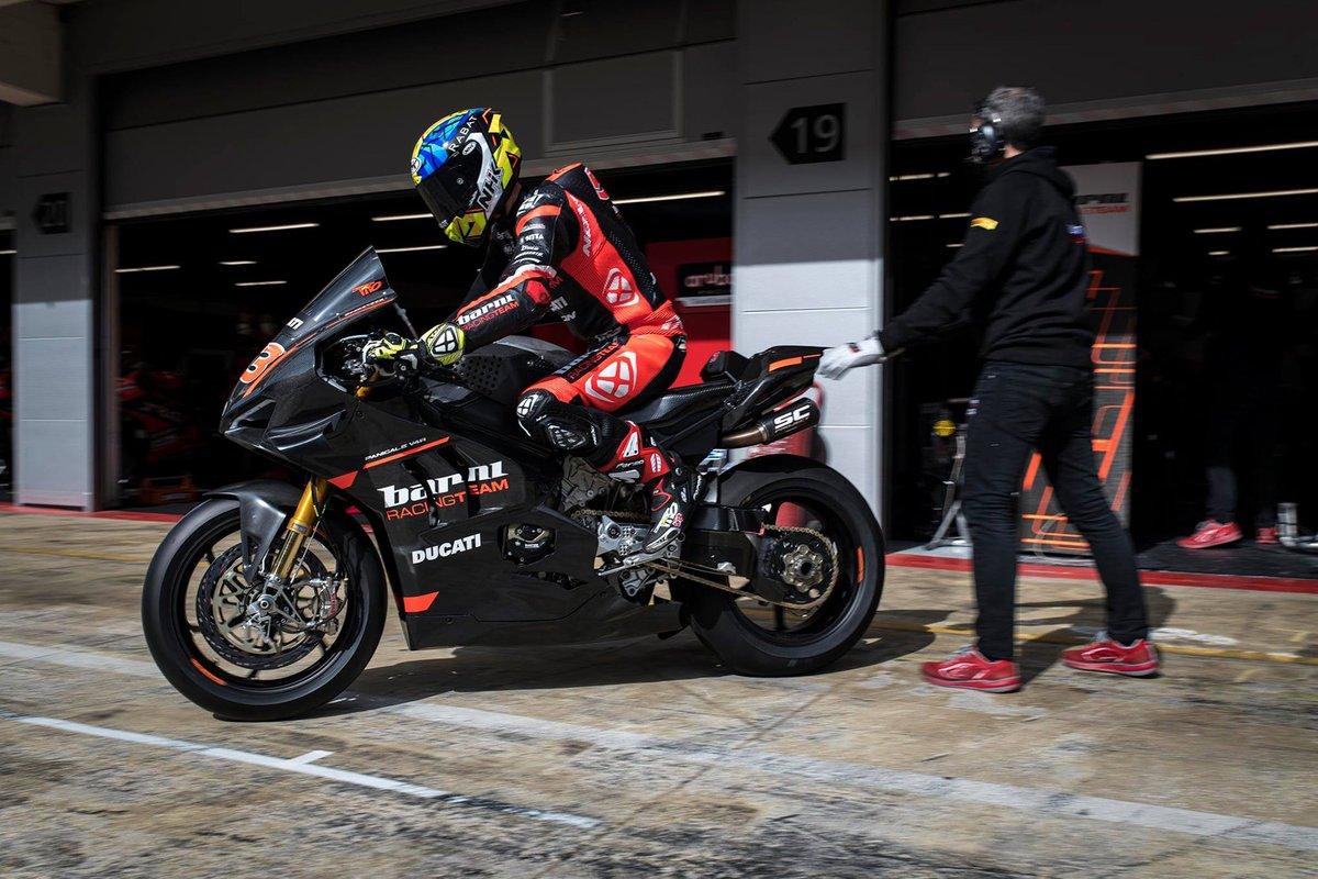 Tito Rabat en el equipo Barni Racing