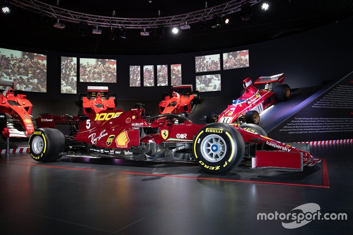 La Ferrari SF1000 al Museo Ferrari di Maranello