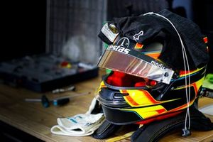 Helmet of Stoffel Vandoorne, Mercedes Benz EQ