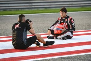 Pietro Fittipaldi, Haas F1, met fotograaf Andy Hone