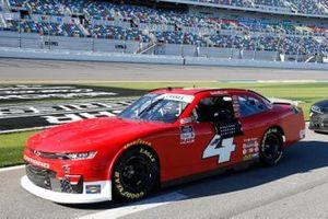 Landon Cassill, JD Motorsports, Chevrolet Camaro Blue Emu