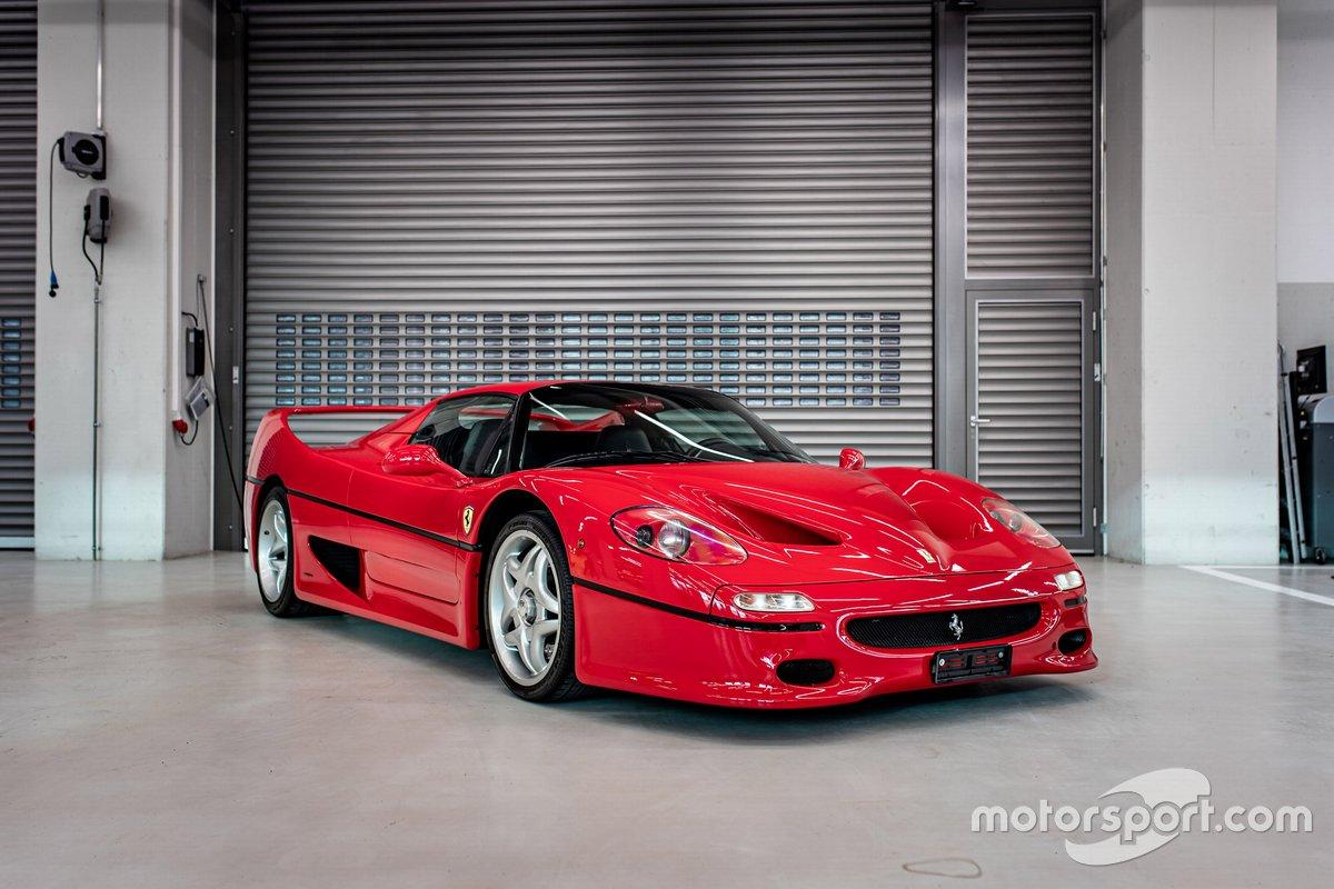 1996 Ferrari F50 of Sebastian Vettel