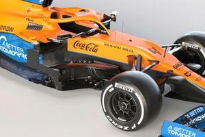 Detail McLaren MCL35M