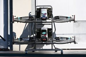 Mercedes F1 W11 front wings