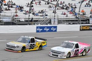 Grant Enfinger, ThorSport Racing, Toyota Tundra Champion/Camping World/Curb Records, Jennifer Jo Cobb, Jennifer Jo Cobb Racing, Chevrolet Silverado Fastener Supply Company