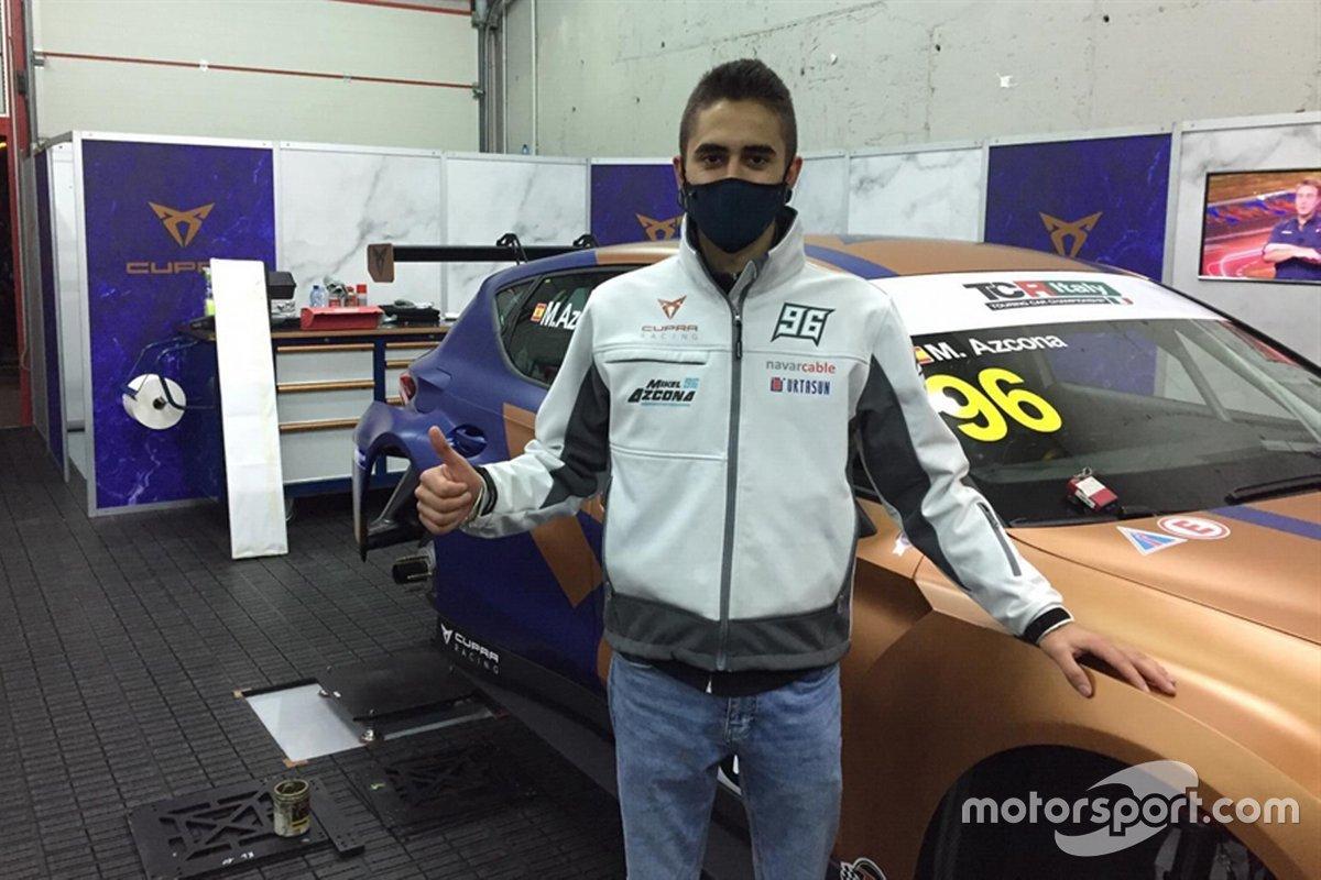 Mikel Azcona, Scuderia del Girasole by Cupra Racing, Cupra Leon Competición TCR