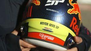 Casco di Sergio Perez, 2021, Red Bull
