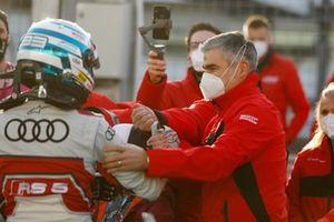 Rene Rast, Audi Sport Team Rosberg, Dieter Gass, Head of DTM Audi Sport