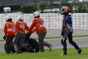 Joe Roberts, American Racing crash