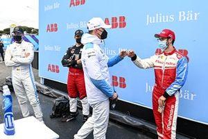Maximilian Guenther, BMW I Andretti Motorsport, Alexander Sim, Mahindra Racing