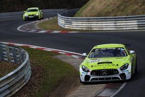 #165 Schnitzelalm Racing Mercedes-AMG GT4: Tim Neuser, Marek Böckmann, Roland Fröse