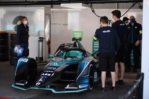 The car of Tom Blomqvist, NIO 333, NIO 333 001