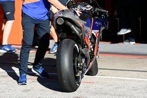 Mika Kallio, Red Bull KTM Tech 3 bike detail