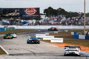 #99 Team Hardpoint EBM Porsche 911 GT3R, GTD: Rob Ferriol, Earl Bamber, Trenton Estep