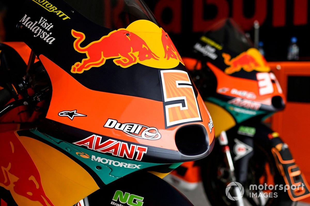 Red Bull KTM Ajo bikes
