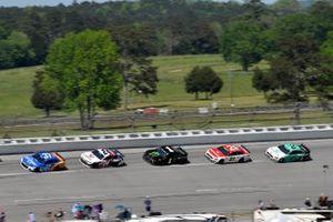Ryan Preece, JTG Daugherty Racing, Chevrolet Camaro Kroger/Reese's and William Byron, Hendrick Motorsports, Chevrolet Camaro Liberty University