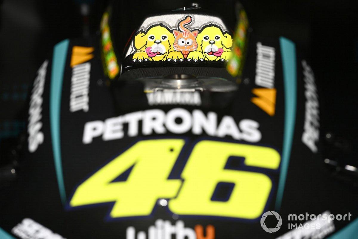 Valentino Rossi, Petronas Yamaha SRT, bike detail