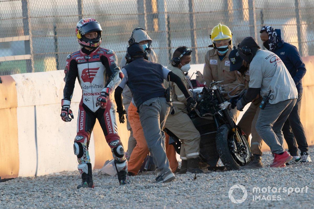 Caída de Takaaki Nakagami, Team LCR Honda