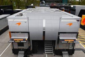 El motorhome de McLaren