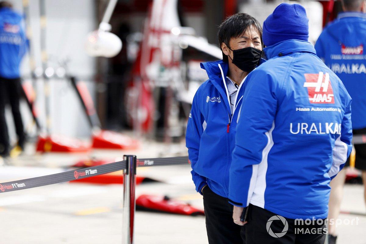 Ayao Komatsu, ingeniero jefe de Haas F1