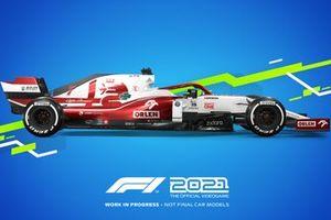 F1 2021 Alfa Romeo Racing livery