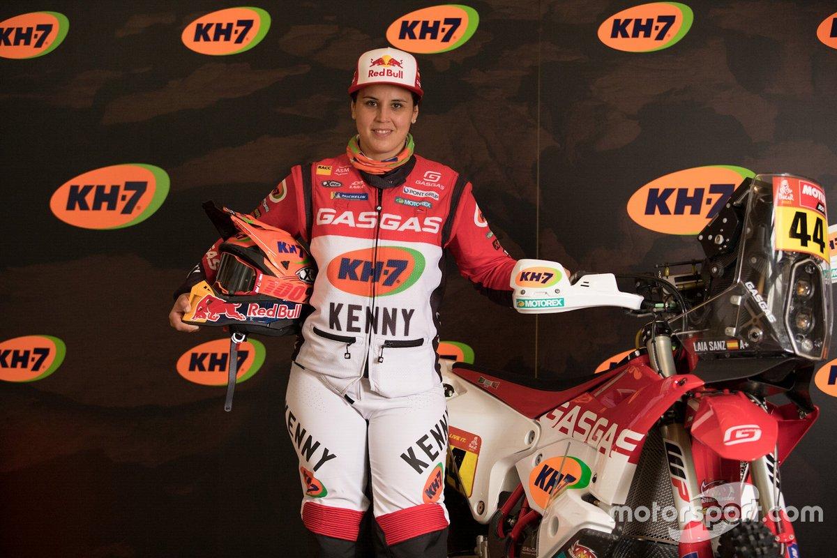 #44 Laia Sanz, GASGAS Rally team