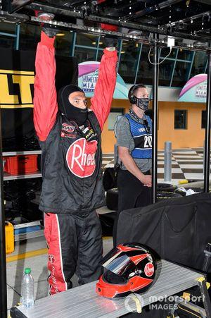 Christopher Bell, Joe Gibbs Racing, Toyota Camry Rheem, crew members