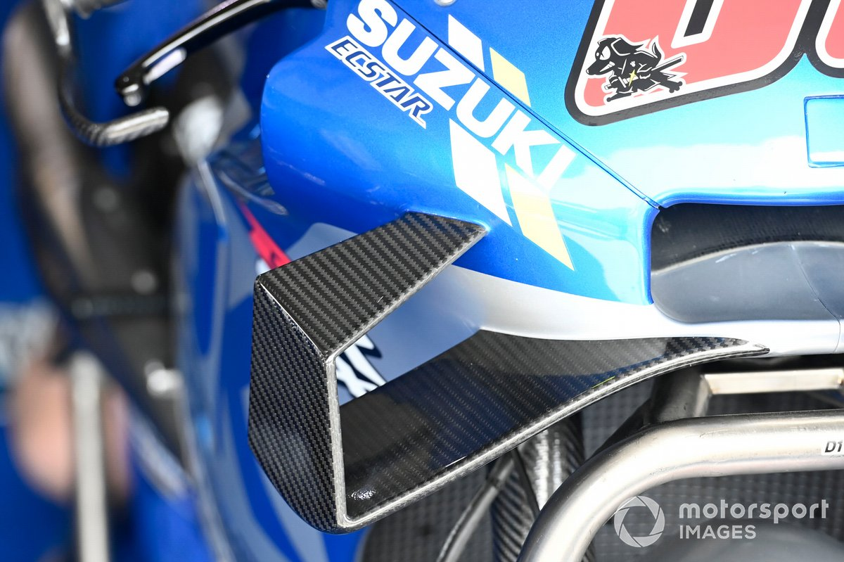 Team Suzuki MotoGP, detalle de la moto