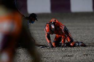 Авария Данило Петруччи, KTM Tech3 crash