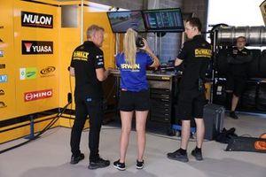 Charlie Schwerkolt Racing garage atmosphere