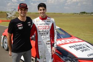 Nelson Piquet Jr. and Rafael Martins