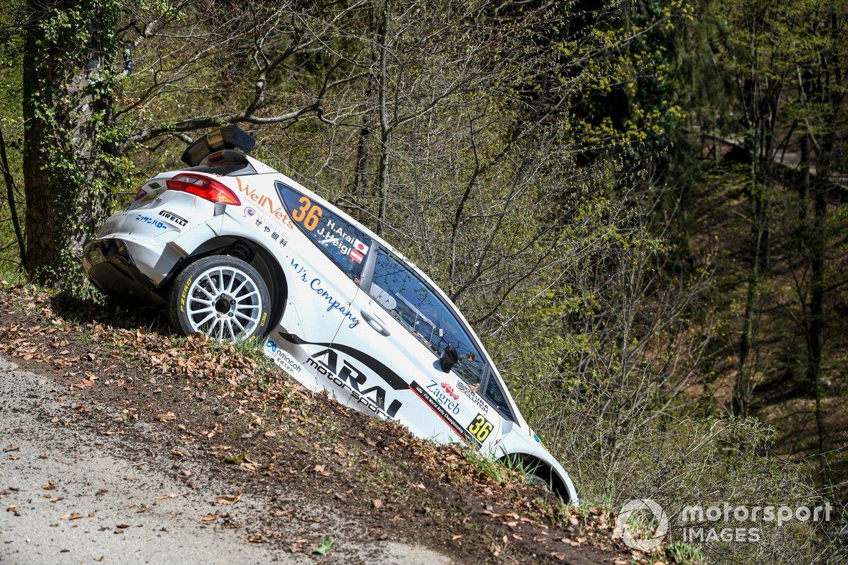 Hiroki Arai, Ju?rgen Heigl, Stohl Racing Ford Fiesta Rally 2