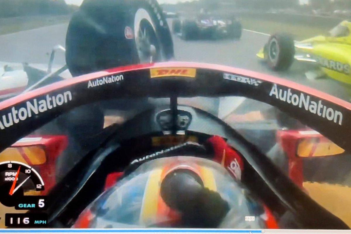 A bordo screenshot Ryan Hunter-Reay, Andretti Motorsport