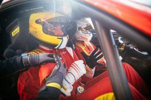 Marco Congiu, Giornalista di Motorsport.com e Nicklas Nielsen, Campione del Mondo GTE AM