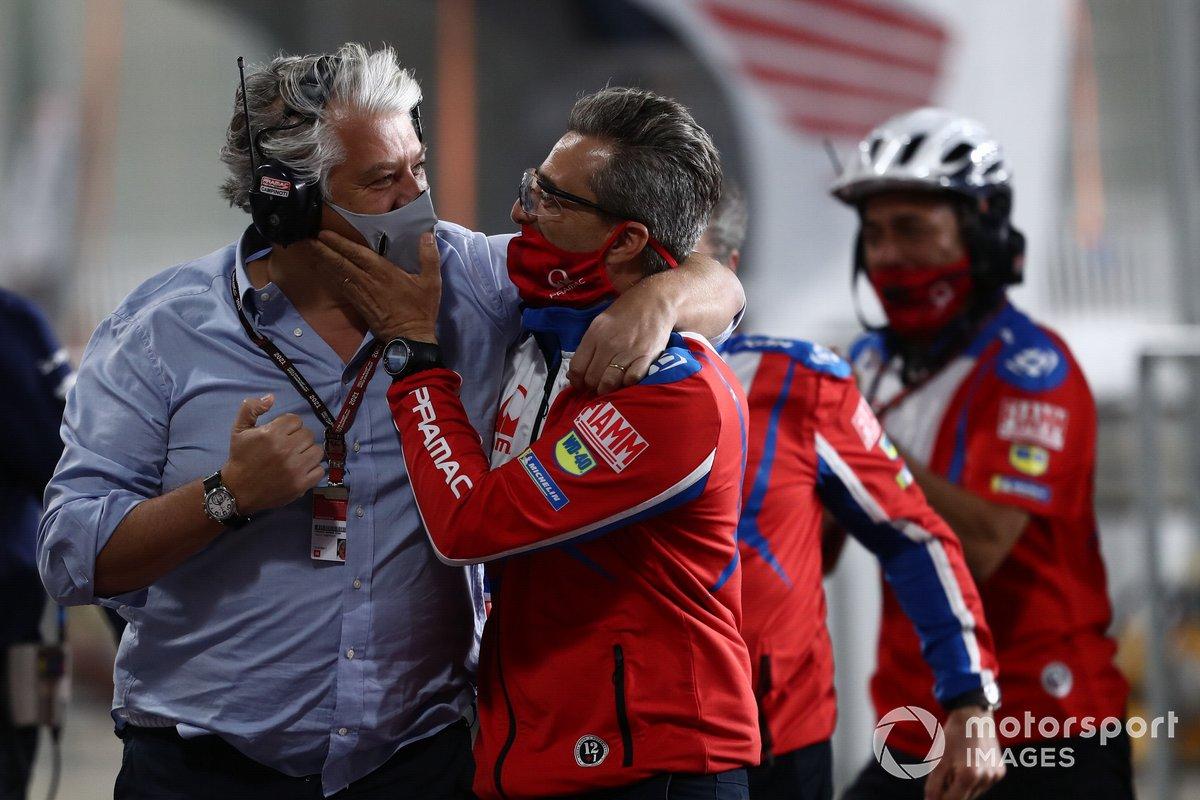 Paulo Campinoto, Pramac Racing, Francesco Guidotti, Ducati