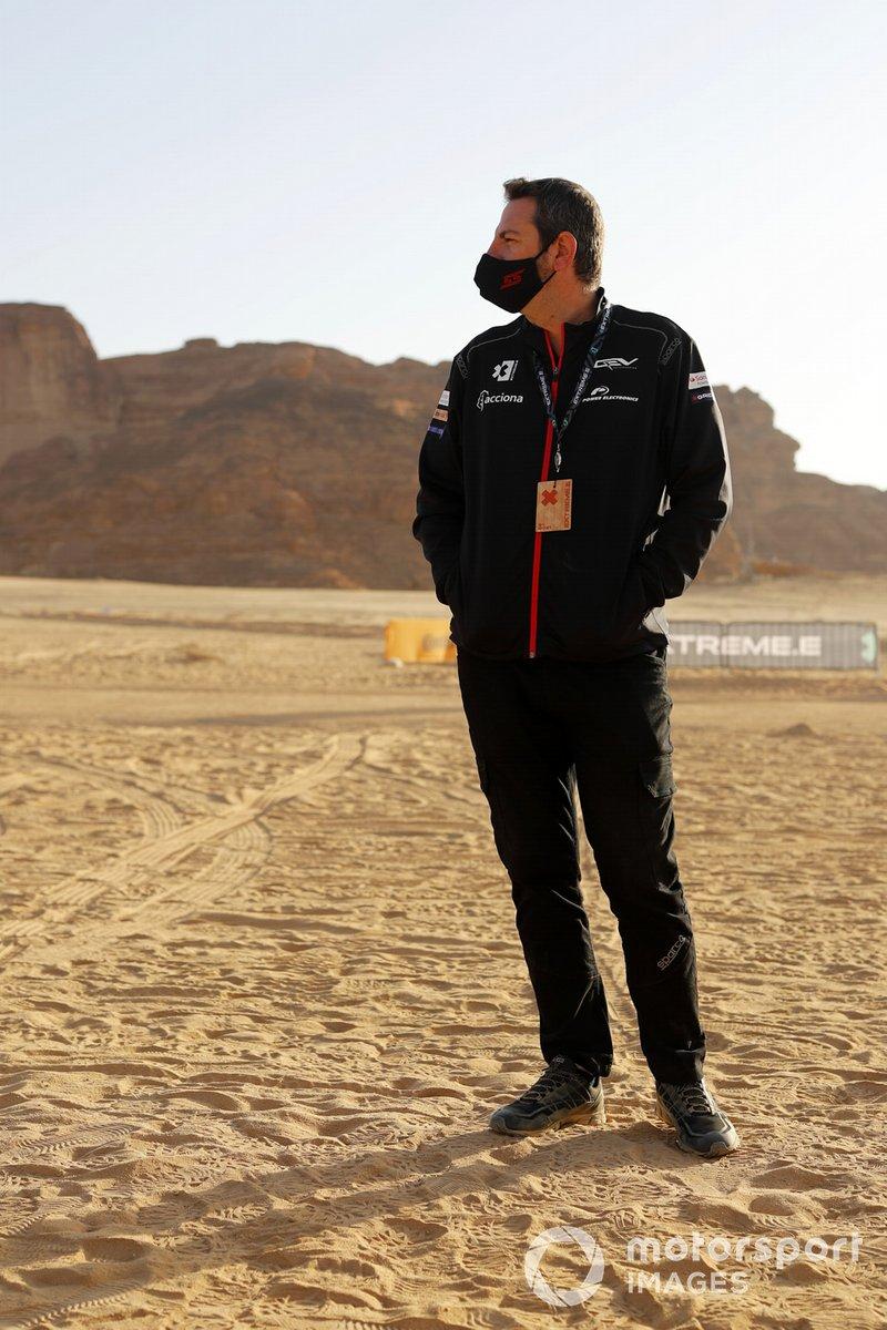Un miembro del equipo Acciona | Sainz XE Team