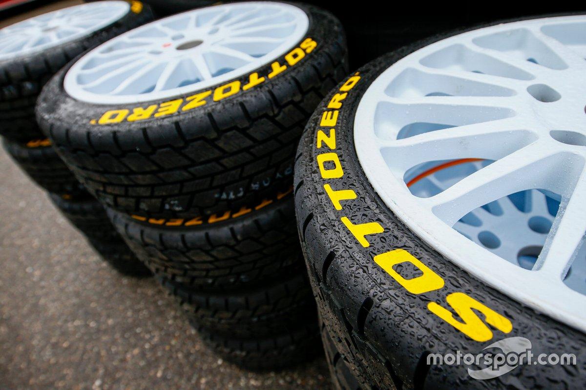 Neumáticos Pirelli del WRC 2021