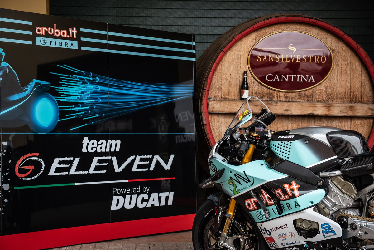 Bike of Chaz Davies, Team Go Eleven
