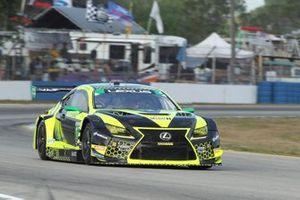 #12: VasserSullivan Lexus RC F GT3, GTD: Frankie Montecalvo, Robert Megennis, Zach Veach
