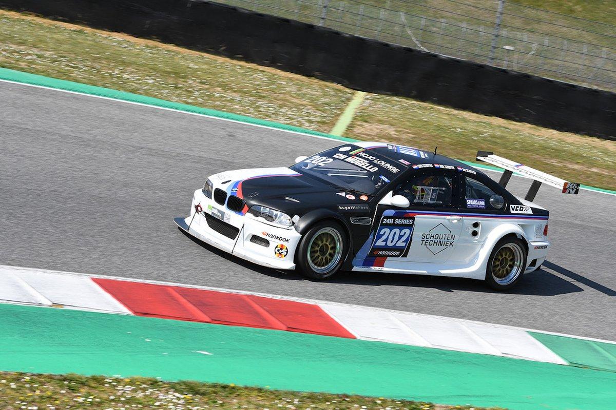 #202 JR Motorsport: Bas Schouten, Coos Schouten, Dirk Schouten, BMW E46 GTR