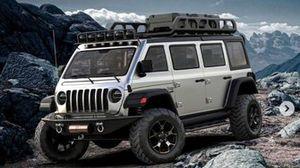 Render del Jeep Wrangler Van 4x4