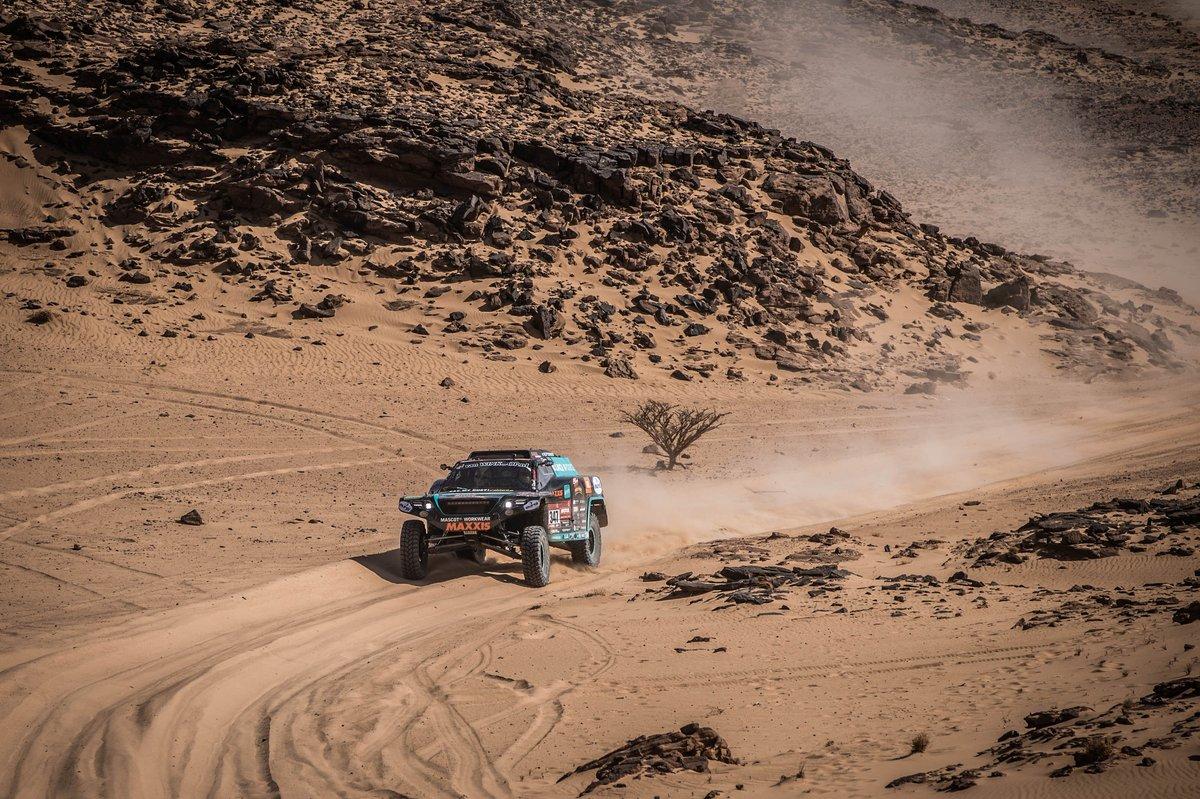 #347 Maxxis Dakar Team Powered By Eurol Jefferies Dakar Rally: Tim Coronel, Tom Coronel