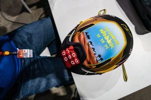 Helmet of #301 Toyota Gazoo Racing: Nasser Al-Attiyah