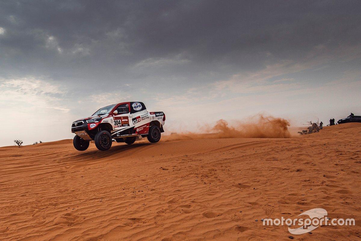 #304 Toyota Gazoo Racing: Giniel De Villiers, Alex Haro