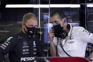 Valtteri Bottas, Mercedes in the garage